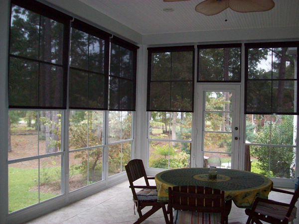 Solar Shades Southern Exposure Sunrooms